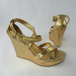 Coach Marlla Platform Wedge Sandals